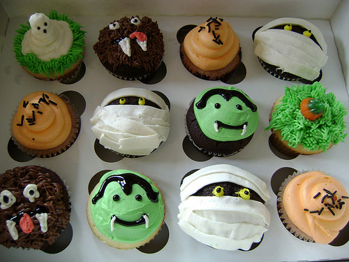 Halloween Cupcake Cake Decorating Ideas : 301 Moved Permanently